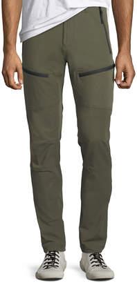 Men's Zip-Detail Slim-Leg Pants