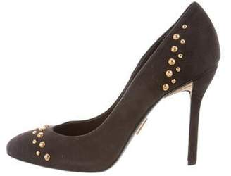 Maiyet Studded Suede Pumps