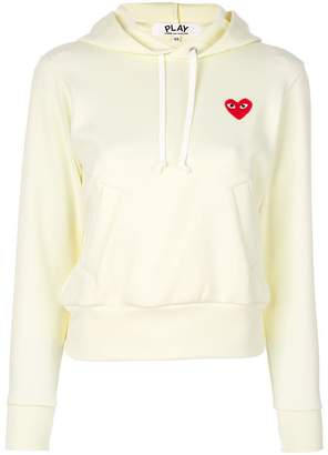 Comme des Garcons logo hoodie