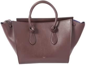 Celine Tie leather bag