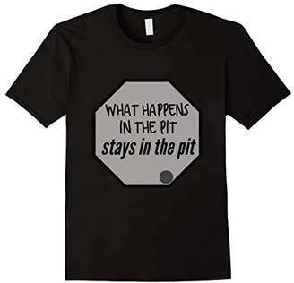 What Happens In The Pit Stays In The Pit T-Shirt Gaga Ball