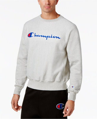 Champion Men's Reverse Weave Pullover Sweatshirt $45 thestylecure.com