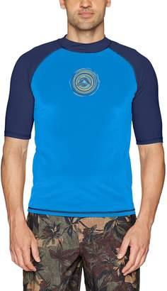 Kanu Surf Men's Sprint UPF 50+ Sun Protective Rashguard Swim Shirt