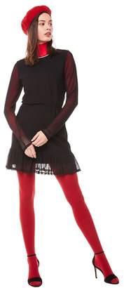 Juicy Couture Jxjc Drop Waist Bell Sleeve Mesh Dress