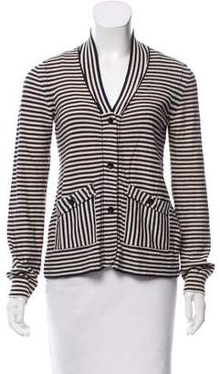 Marc by Marc Jacobs Striped Knit Cardigan