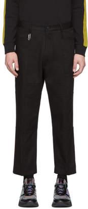 HUGO Black Feryd Work Wear Trousers