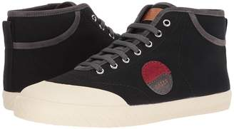 Bally Stefhan Retro High Top Canvas Sneaker Men's Lace up casual Shoes