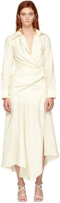 Jacquemus White La Robe Sabah Dress