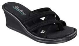 Skechers Rumblers at Heart Wedge Sandals