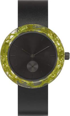 Co Analog Watch Green Reindeer Moss Botanist Watch