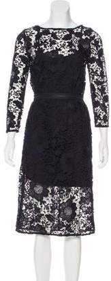 Rachel Comey Lace Long Sleeve Dress