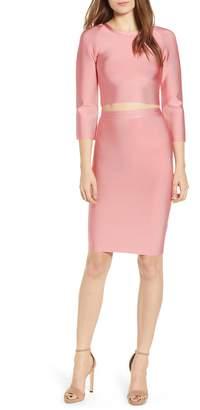 Sentimental NY Two-Piece Body-Con Dress