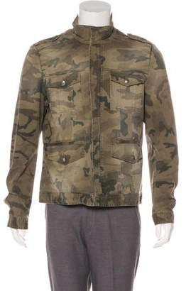 Versace Camouflage M-65 Field Jacket