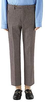 Gucci Men's Multicolor Tweed Trousers