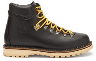 Diemme Roccia Vet Tread Sole Leather Hiking Boots - Mens - Black