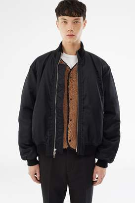 3.1 Phillip Lim Sherpa-Lined Bomber Jacket