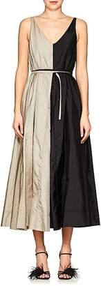 Nina Ricci Women's Colorblocked Taffeta A-Line Dress