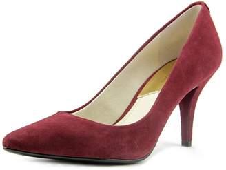 MICHAEL Michael Kors MK-Flex Mid Pump Women US 5.5 Burgundy Heels