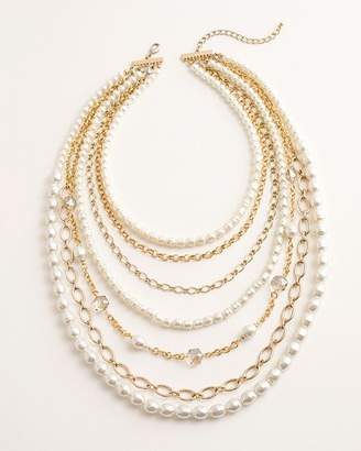 5b0388ace1513 Multi Strand Pearl Necklaces - ShopStyle