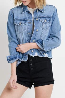 Just USA Distressed Denim Jacket