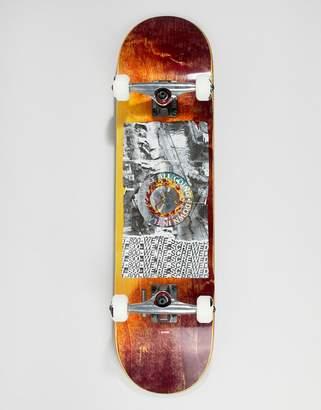 Globe Holo/Quake in flames skateboard - 8 inches