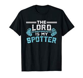 Jesus Workout Shirt Jesus is my Spotter Christian Gym Gift