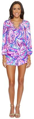 Lilly Pulitzer Colby Romper Women's Jumpsuit & Rompers One Piece