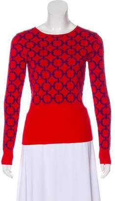 Versace Knit Patterned Sweater