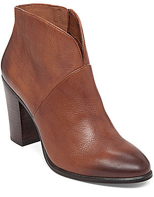 Vince Camuto Franell Leather Booties $129 thestylecure.com