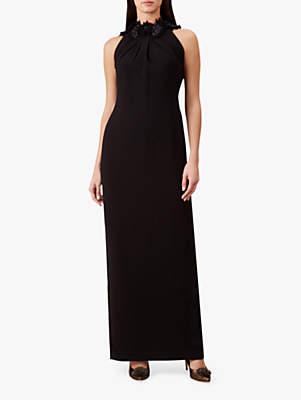 Hobbs Emerson Maxi Dress, Black