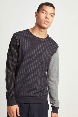 French Connenction Boiled Pinstripe Jumper