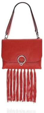 Rebecca Minkoff Isabel Fringe Leather Shoulder Bag