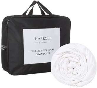 Harrods 90% European Goose Down Duvet 9 Tog