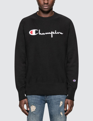 c08c31911177 Champion Reverse Weave Script Logo Sweatshirt