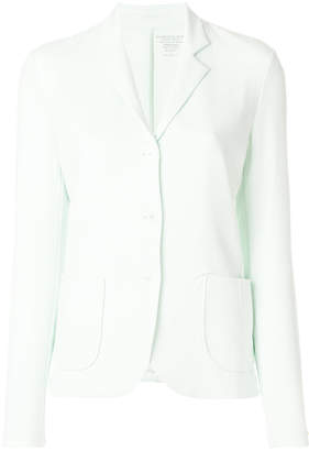 Majestic Filatures fitted jersey blazer