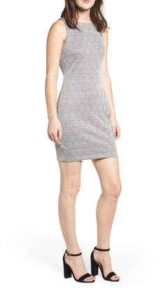 Love, Nickie Lew Glen Plaid Sheath Dress