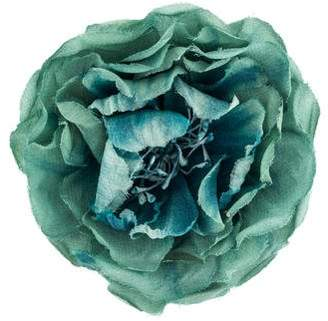 Silk flower pin shopstyle pre owned at therealreal gucci silk flower brooch mightylinksfo