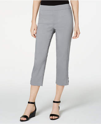 JM Collection Petite Embellished Capri Pants
