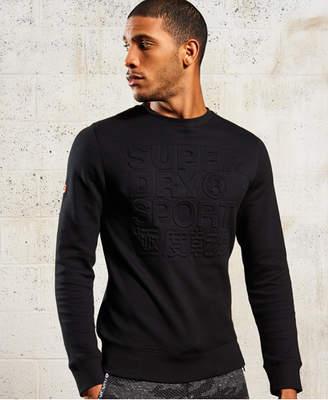 Superdry Gym Tech Embossed Crew Neck Sweatshirt