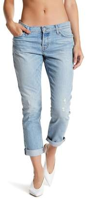 Hudson Riley Cropped Relaxed Straight Leg Jeans