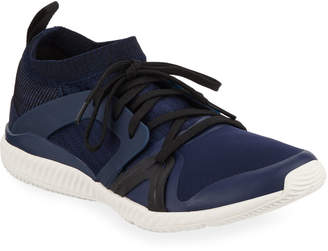 adidas by Stella McCartney Crazy Train Pro Lace-Up Sneakers, Navy