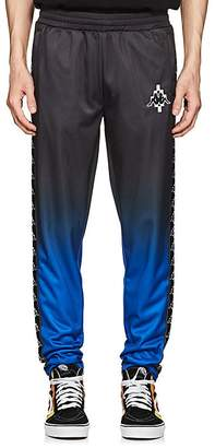 Marcelo Burlon County of Milan County of Milan X Kappa COUNTY OF MILAN X KAPPA MEN'S LOGO GRADIENT FLEECE TRACK PANTS
