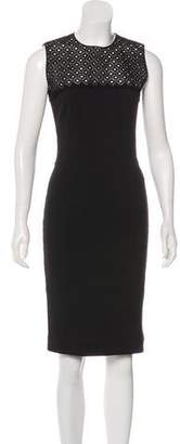 Stella McCartney Sleeveless Sheath Dress