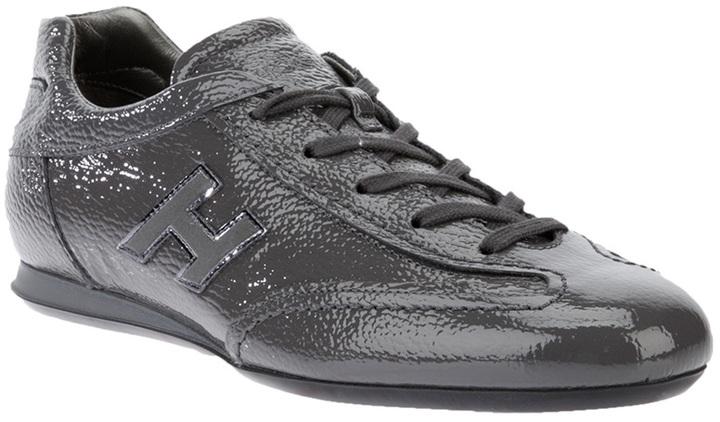 Hogan patent leather sneaker