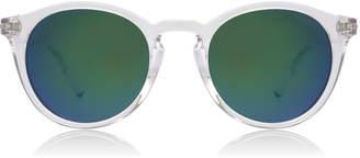Dirty Dog Riddle Sunglasses Crystal Crystal Polariserade 48mm