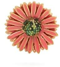 Aurelie Bidermann Athina Flower Gold Plated Single Earring - Womens - Pink
