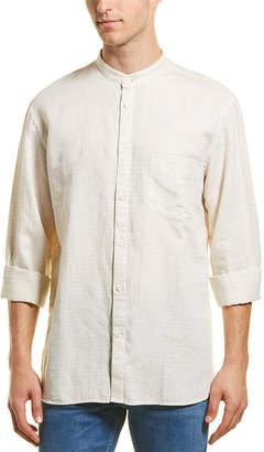 Billy Reid Sloane Standard Fit Linen Woven Shirt