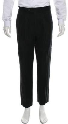 Giorgio Armani Pleated Twill Pants