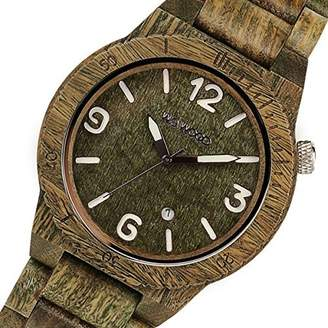 WeWood Wee Wood wooden men's watch ALPHA-ARMY Army