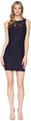 Adrianna Papell Lace Sheath Dress Women's Dress